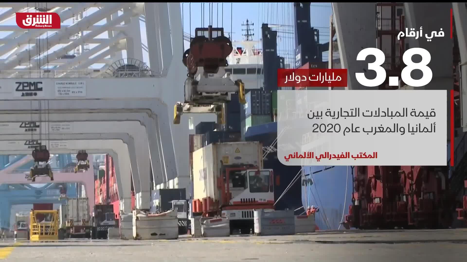 حركة التبال التجاري بين المغرب وألمانيا تعكس علاقات تجارية متينة