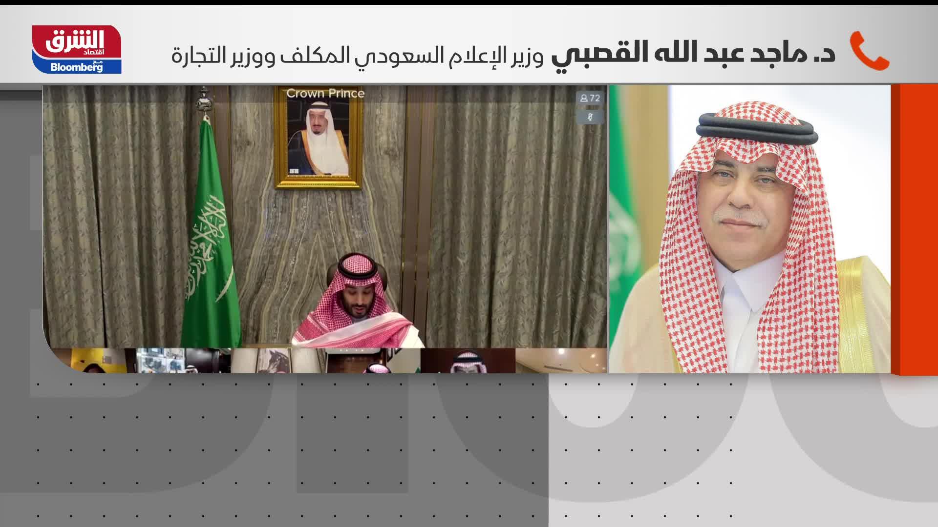 """ولي العهد السعودي يدشن برنامج تعزيز الشراكة مع القطاع الخاص """"شريك"""""""