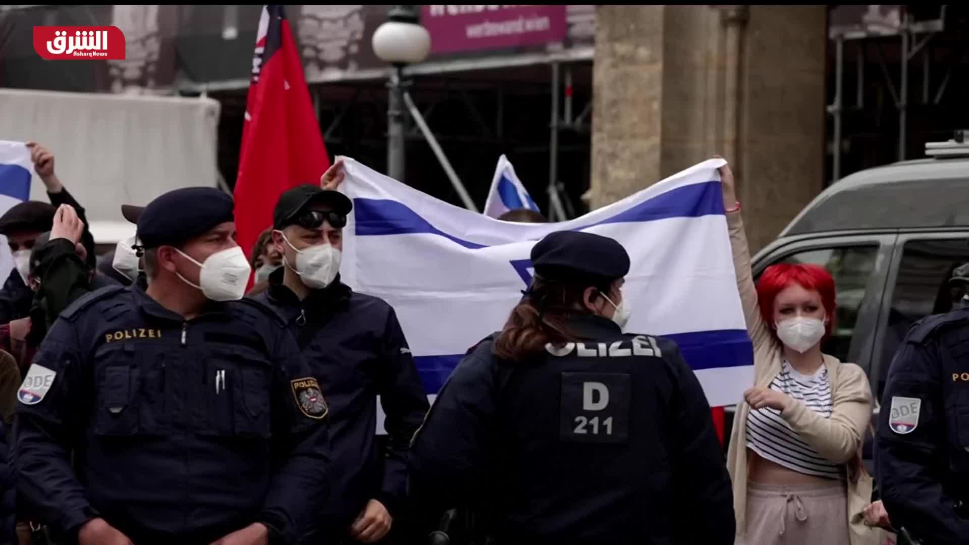 عواصم أوروبية تمنع التظاهرات الداعمة لفلسطين