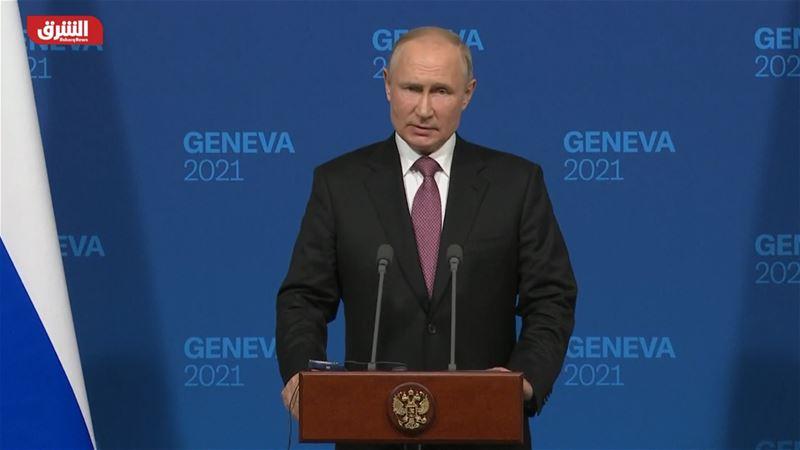 مؤتمر صحفي للرئيس الروسي فلاديمير بوتين