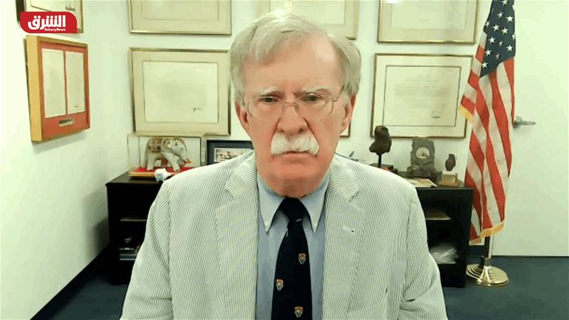 بولتون: بايدن لديه نيّة للعودة إلى الاتفاق النووي