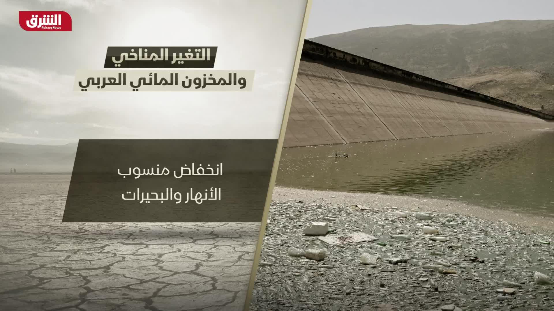 التغير المناخي.. والمخزون المائي العربي