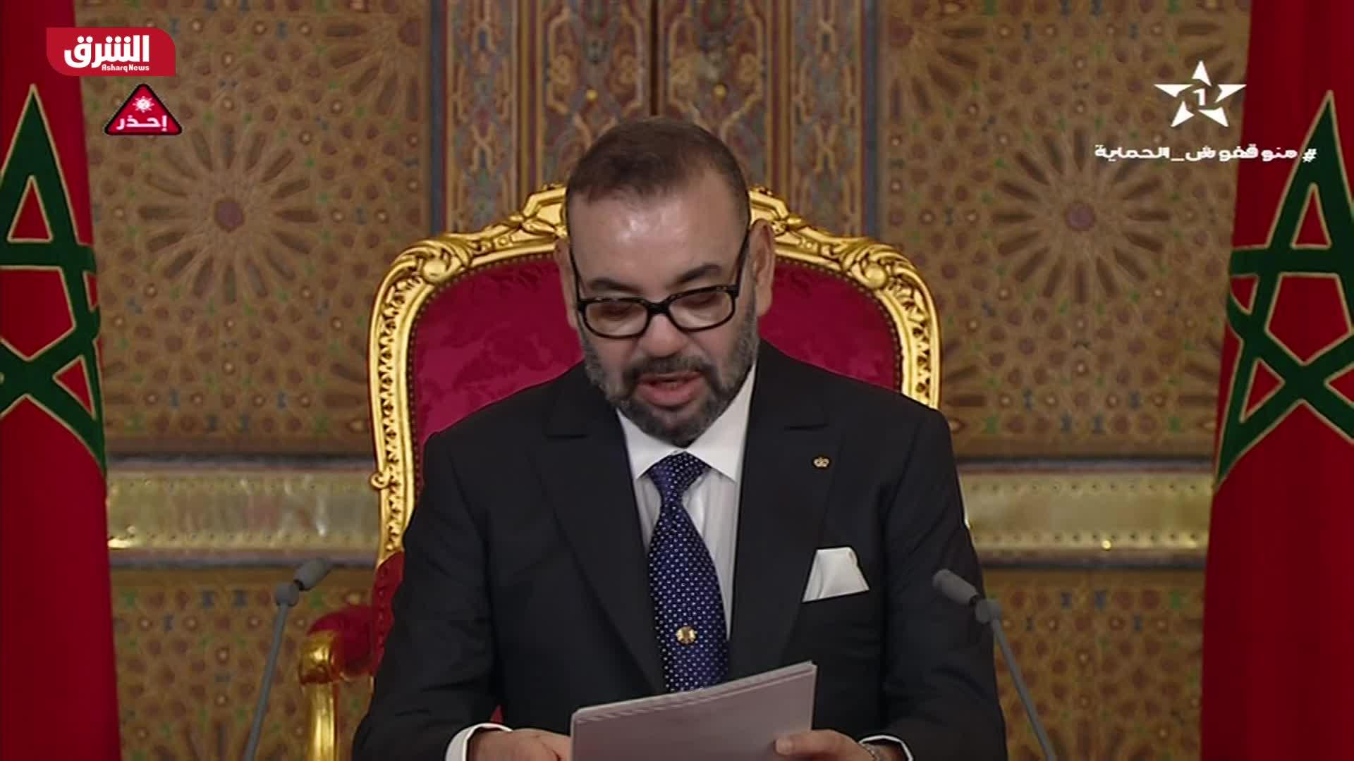 كلمة للعاهل المغربي بمناسبة يوم العرش