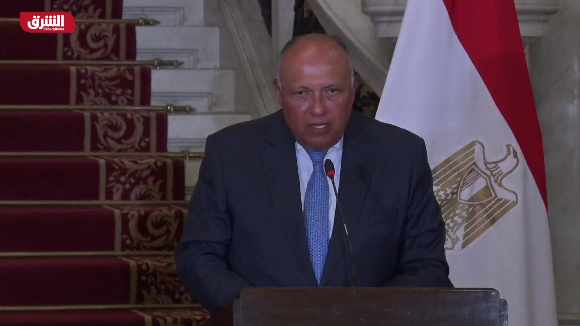 سامح شكري: مصر والجزائر كان لديهما قلق مشترك إزاء الوضع في ليبيا