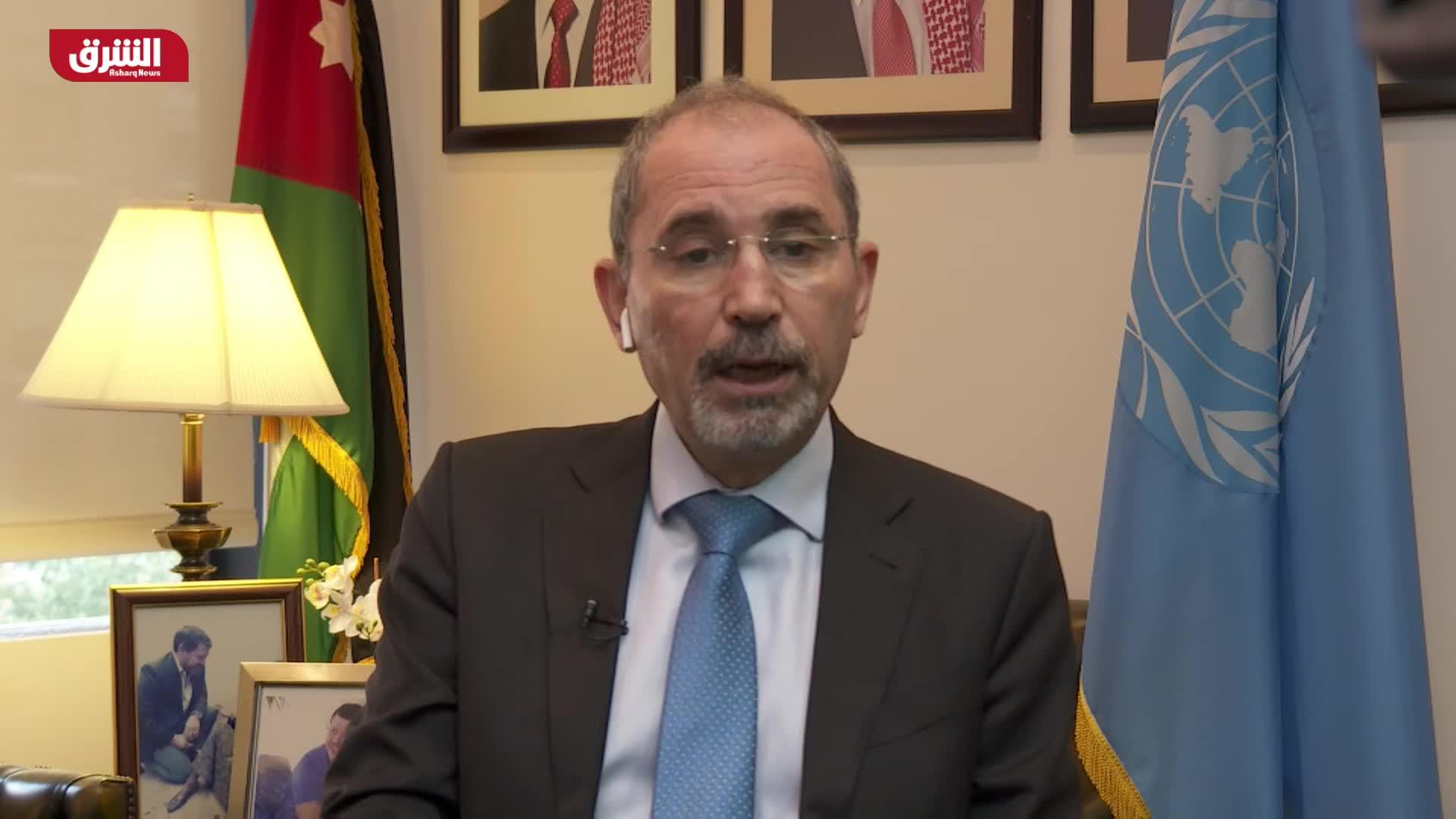 أيمن الصفدي - وزير الخارجية الأردني