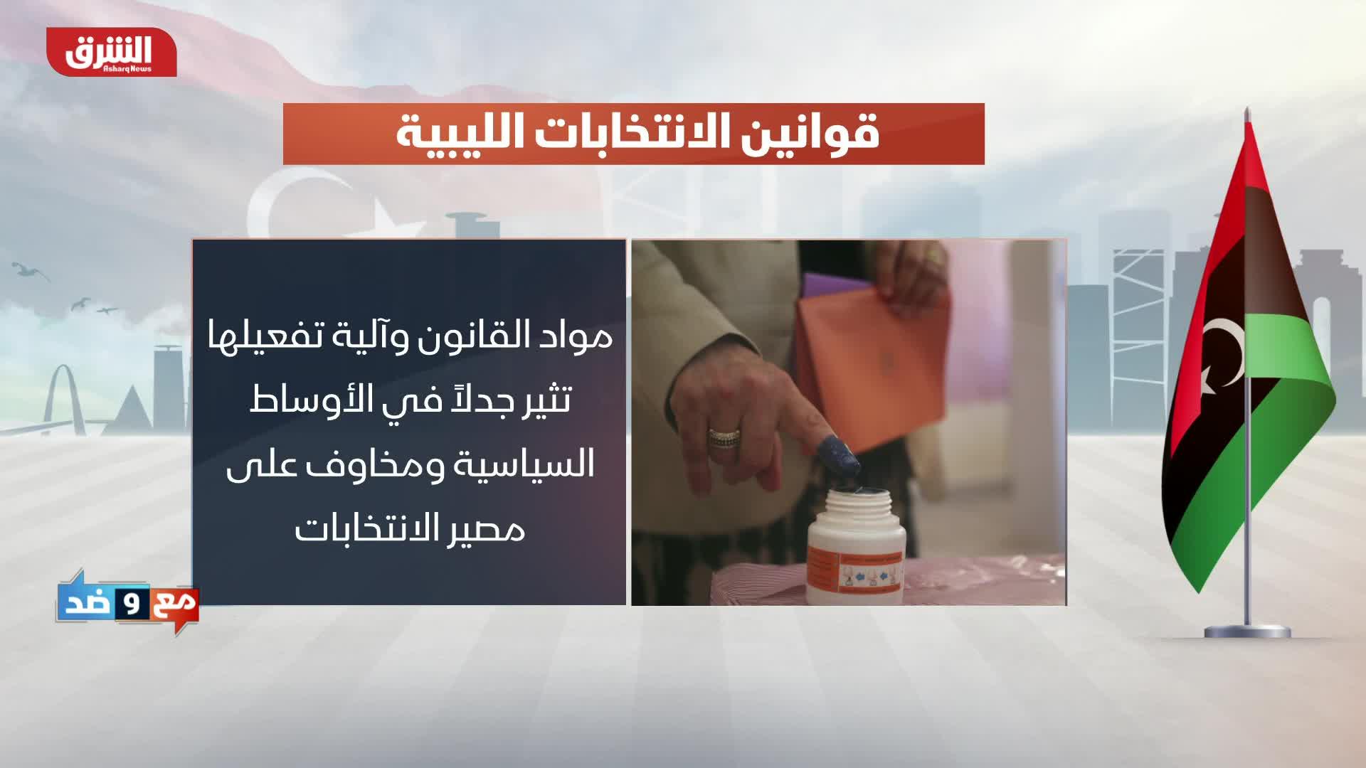 قوانين الانتخابات الليبية