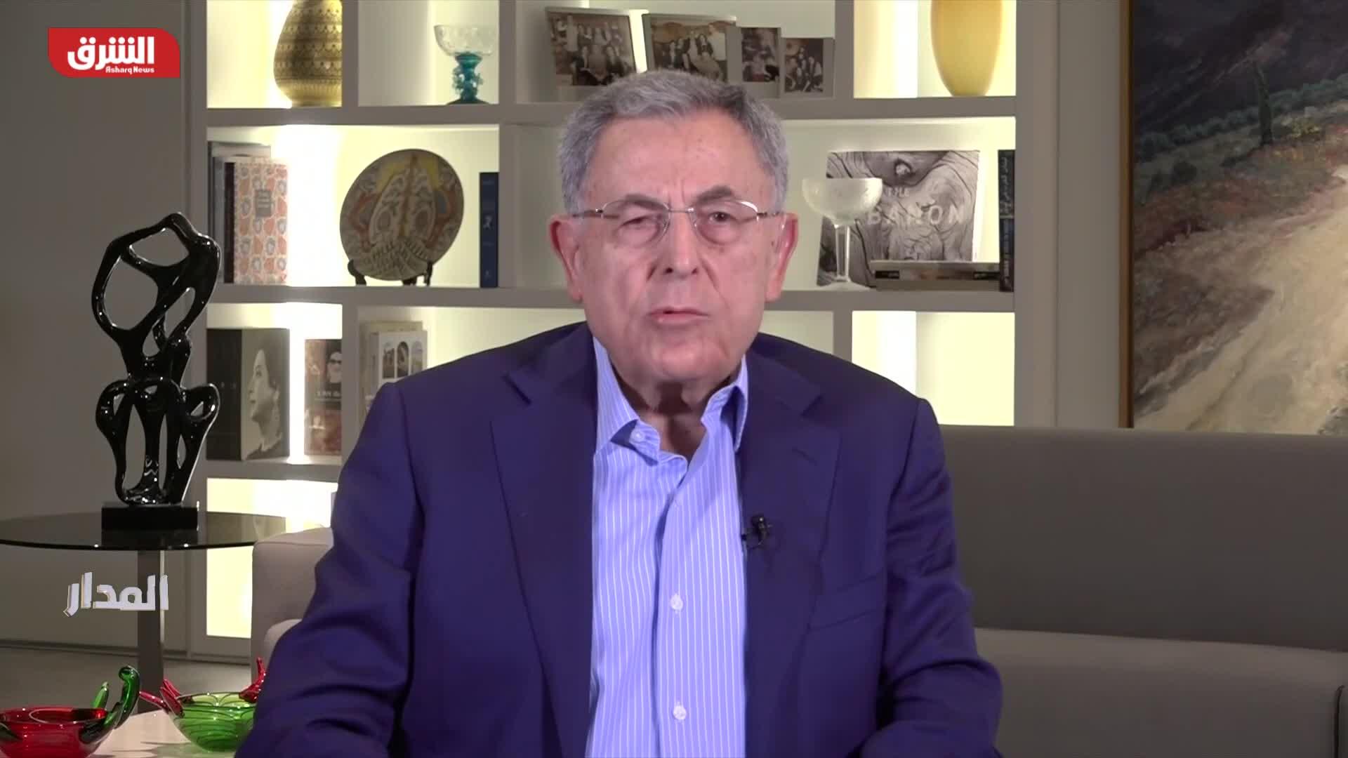 السنيورة: دعم حزب الله كان سبب صمود الرئيس عون