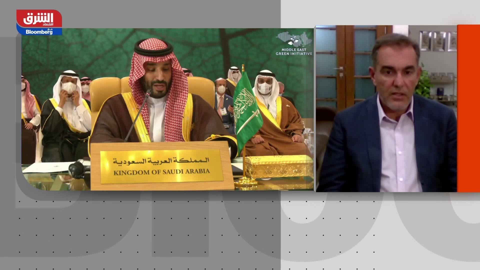 ولي العهد السعودي يطلق برنامجاً إقليمياً لخفض انبعاثات الكربون