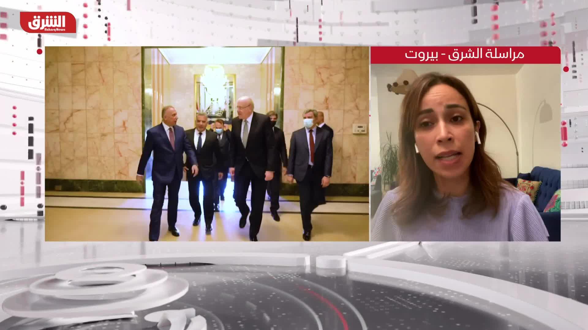 ميقاتي يبحث ملف الطاقة مع الكاظمي في بغداد