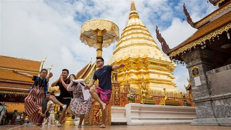 كيف جعلت الحرب من تايلاند وجهة سياحية