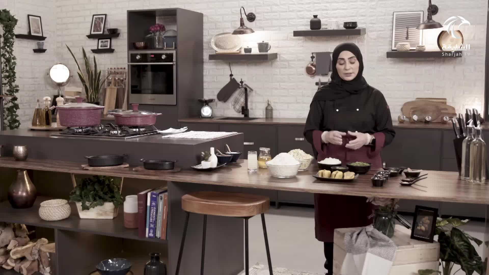 سلطة الجرجير مع المنجا - الجشيد مع الأرز - الحلوى البحرينية